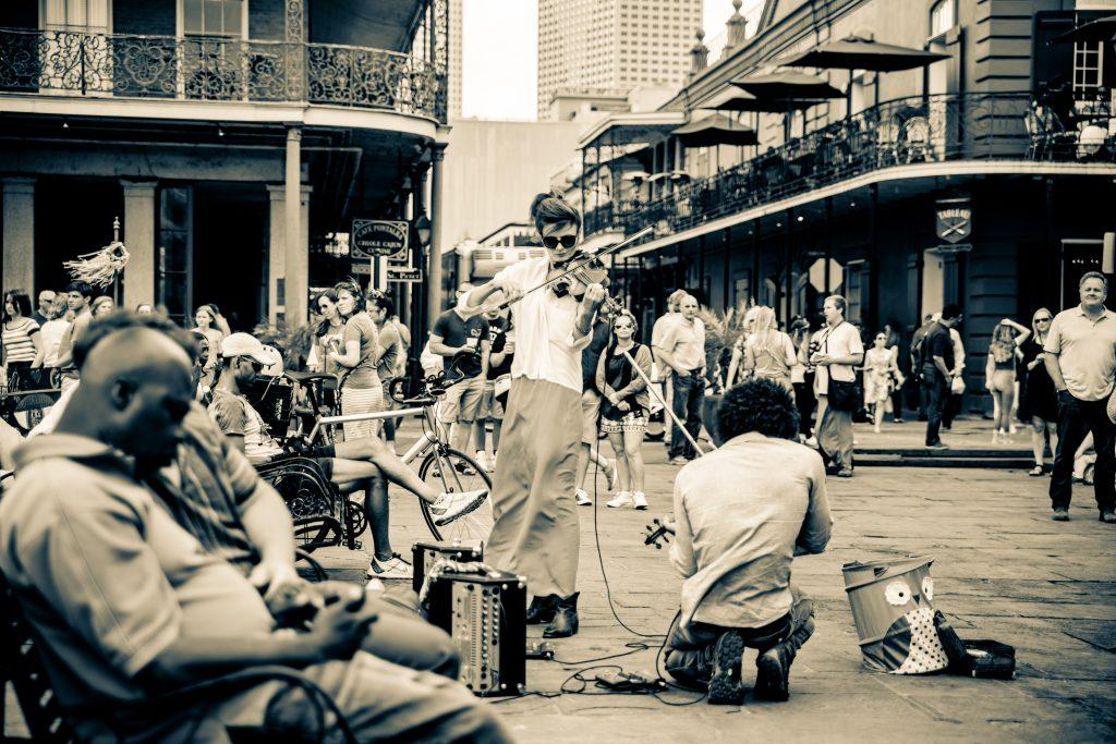 llegar a Nueva Orleans