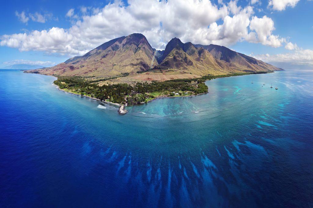 recorres la isla de Maui en Hawaii